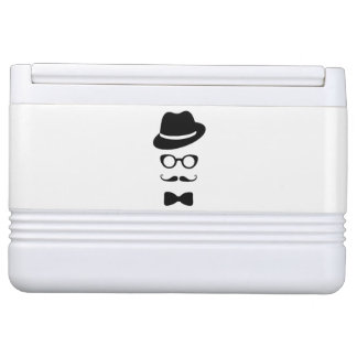 Hipster Face Igloo Can Cooler Igloo Cool Box