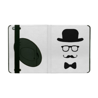Hipster Face iPad 2 3 4 Air Mini Case w/ Kickstand Cases For iPad