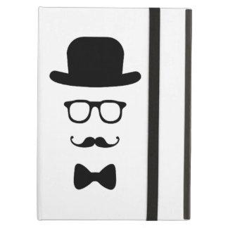 Hipster Face iPad Air Mini 2 3 4 Case No Kickstand iPad Air Covers