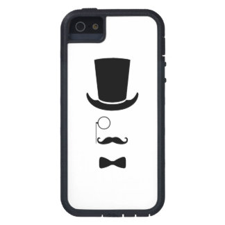 Hipster Face iPhone 5 / 5S Tough Xtreme iPhone 5 Case