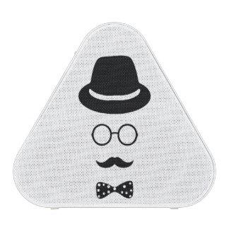 Hipster Face Pieladium Speaker
