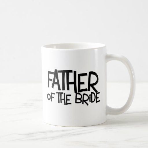 Hipster Father Bride Lite T Basic White Mug