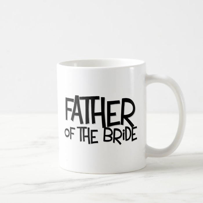Hipster Father Bride Lite T Coffee Mug