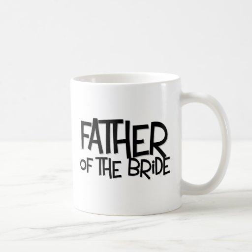 Hipster Father Bride Lite T Classic White Coffee Mug