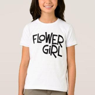Hipster Flower Girl T-Shirt