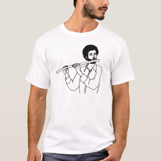 HIpster Flute Guy T-Shirt