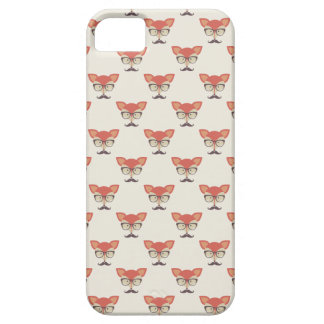 Hipster Fox iPhone 5/5S, Barely There Case iPhone 5 Case