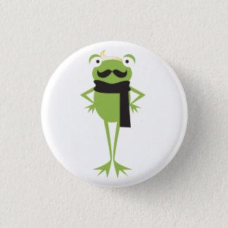 Hipster Frog 3 Cm Round Badge