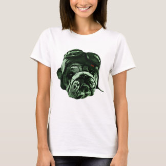 Hipster Funny Dog Pet T-Shirt