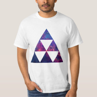 Hipster Galaxy / Space Triangle Tees