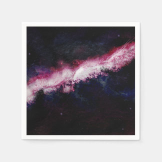 Hipster Galaxy Universe Disposable Napkin