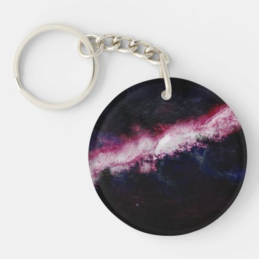 Hipster Galaxy Universe Acrylic Keychains