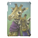 Hipster giraffes iPad mini cover