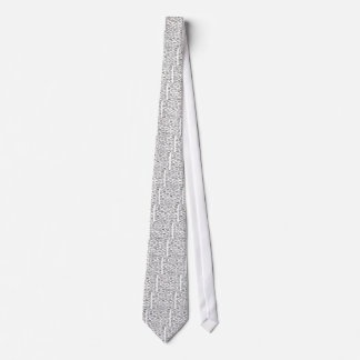 Hipster glasses tie