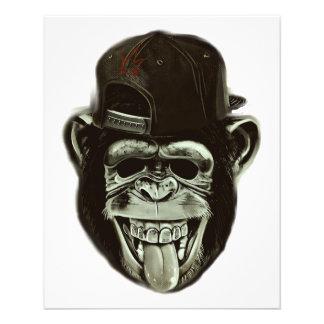 Hipster Gorilla 11.5 Cm X 14 Cm Flyer