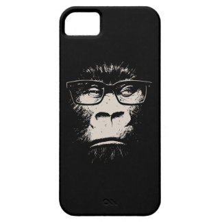 Hipster Gorilla With Glasses iPhone 5 Covers
