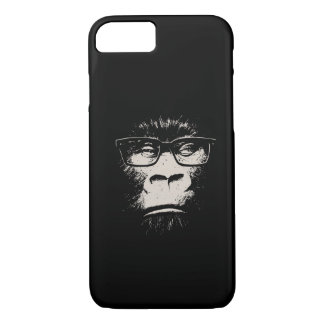 Hipster Gorilla With Glasses iPhone 8/7 Case