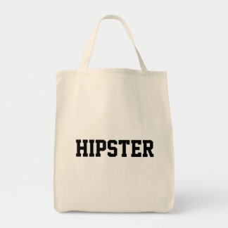 hipster grocery tote bag
