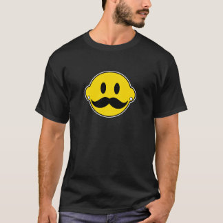 Hipster Happy Face T-Shirt