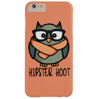 Hipster Hoot Barely There iPhone 6 Plus Case