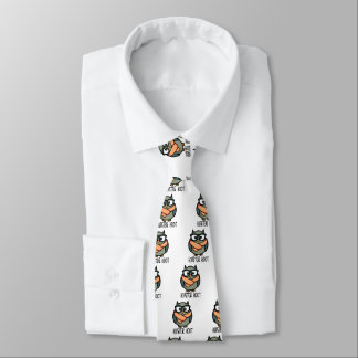 Hipster Hoot Tie
