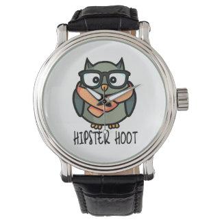 Hipster Hoot Wrist Watches