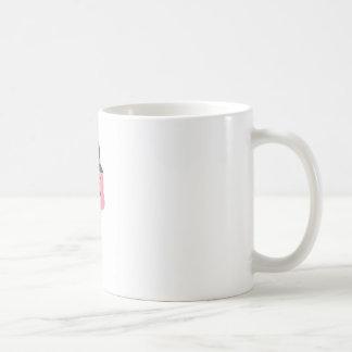 Hipster ice cream coffee mug