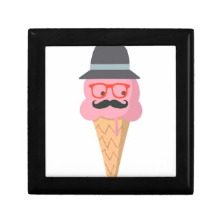 Hipster ice cream gift box