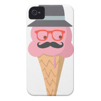 Hipster ice cream iPhone 4 Case-Mate case