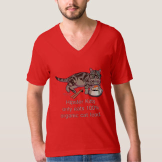 Hipster Kitty T-Shirt