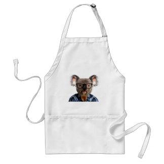 Hipster Koala Standard Apron