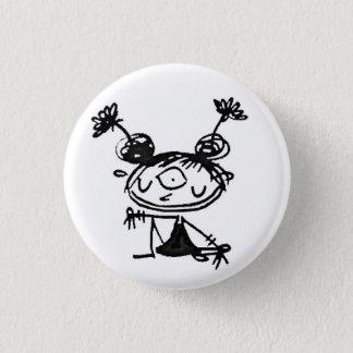 hipster lakshmi 3 cm round badge