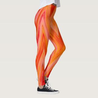 hipster leggings red yellow yoga pants
