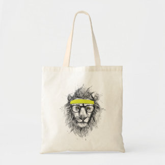 hipster lion