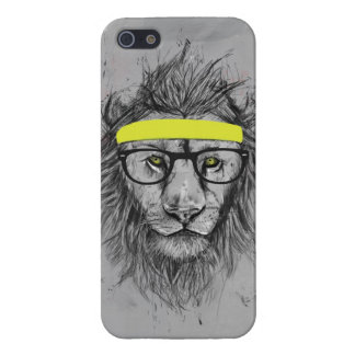 hipster lion case for iPhone 5/5S