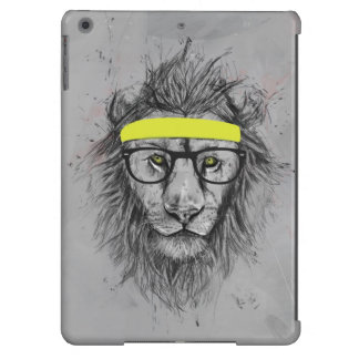 Hipster lion cover for iPad air
