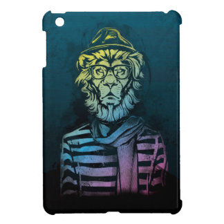 Hipster Lion Gradient Cover For The iPad Mini