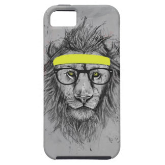 Hipster lion iPhone 5 covers