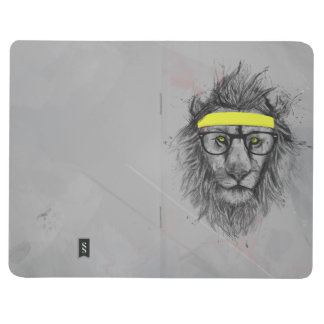 Hipster lion journal