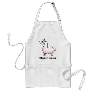 Hipster Llama Standard Apron