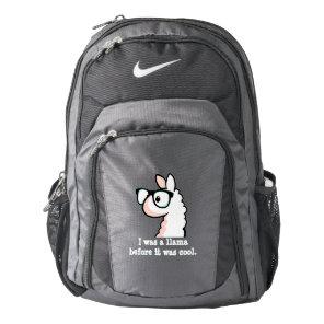 Hipster Llama Backpack
