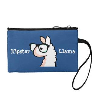 Hipster Llama Change Purse