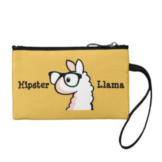 Hipster Llama Change Purses