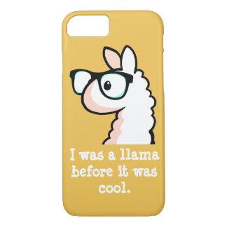 Hipster Llama iPhone 8/7 Case