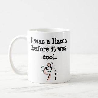 Hipster Llama Mugs