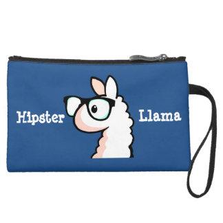 Hipster Llama Wristlet Purses