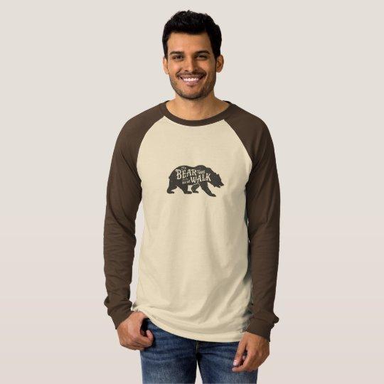 Hipster Long-Sleeved Bear T T-Shirt