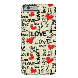 Hipster Love Barely There iPhone 6 Case