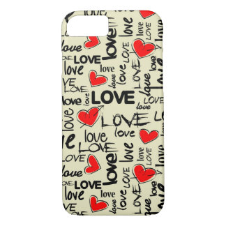 Hipster Love iPhone 7 Case