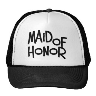 Hipster Maid of Honor Hat
